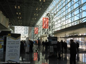 As always, one from inside the Javits Center.