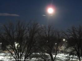 Monday morning full moon.
