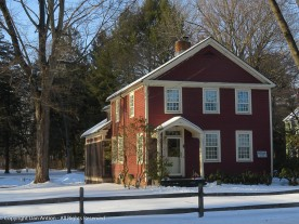 Built by Johnathan Ellsworth in 1771. I love the 12 over 12 windows,