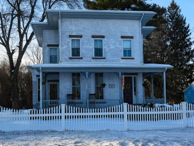 Patrick Murphy House – 1873 as it stands today. Notice that the brick has been whitewashed.