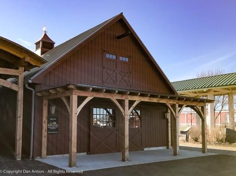 Upper and lower barn doors. I love 'em.