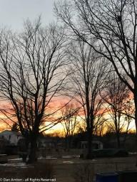 Pretty morning sky.