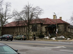 This is the Cary Memorial Library in Lexington