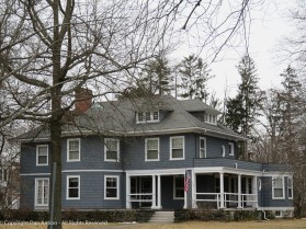 This house sits across from the northwest corner of the Common.