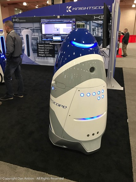 I saw this security-bot at a technology conference in NYC.