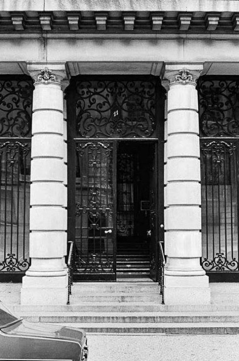 East 73rd Street between 5th Avenue and Madison Avenue. 1976 - photo by Wallach Colmer