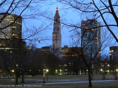 The Travelers Tower - once the tallest building in Connecticut.