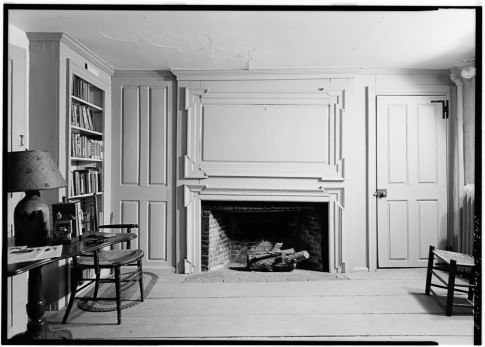 Wright Tavern - Southeast fireplace.