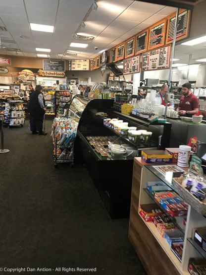 The retail side of Rein's Deli.