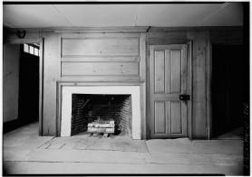 Wright Tavern - First floor northeast fireplace