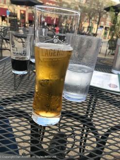 Brothers, but different taste in beers. Lager v Porter.