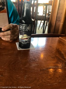 A dark beer dedicated to the crew of the Edmund Fitzgerald.