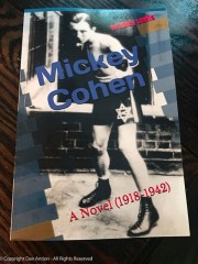 Mickey Cohen - A Novel by Bradley Lewis.