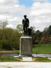 Memorial to the Minutemen who fought at the battle of the Old North Bridge in Concord. MA/