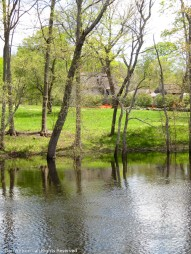 Looking across to The Old Manse from the North Bridge.