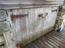 Boathouse doors.