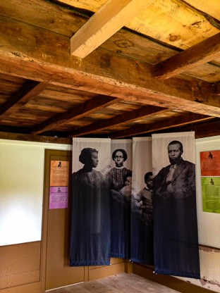 Exhibit inside the Robbins House. This is from their website.