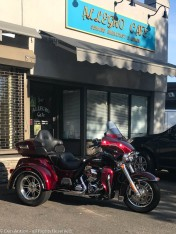 I took this picture for Mary - I know it's a trike, but it is a Harley.