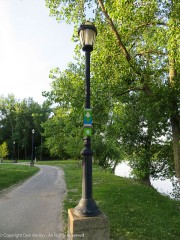 Great River Park's path is part of the East Coast Green Way - Maine to Florida.