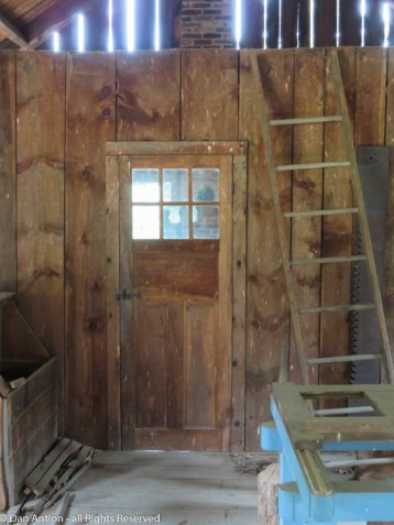 Another exit door from the sawmill.