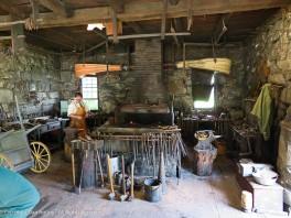 The Blacksmith Shop at Old Sturbridge Village.