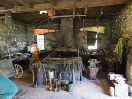 The Blacksmith Shop at Old Sturbridge Village.