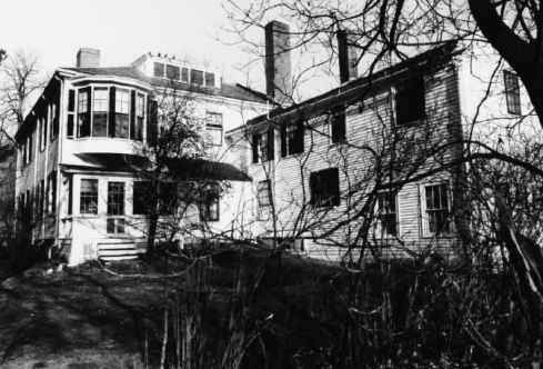 Back view of the Emerson house from the NRHP nomination form.