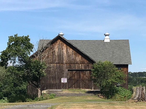This barn was at the mini-golf course.