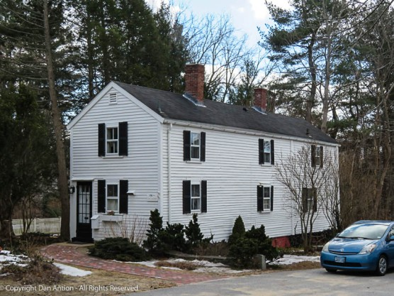 Coan Coachman house, Just outside the center of Concord.