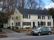 Another beautiful home on the Lexington Road into Concord.