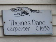 """Thomas Dane """"may have"""" built this house before 1657."""