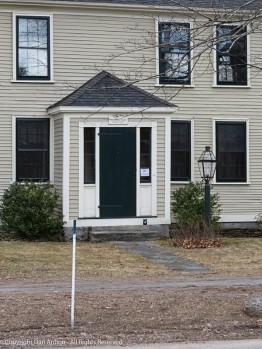 The home of Johnathan Fiske (Prior to 1724).