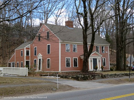 A lot of these homes have one or more additions. These were often used to house the mechanical systems that weren't available wen the historic house was built.