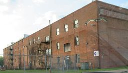 Old warehouse on the outskirts of Hartford, but still serving some need, so not being torn down. that's good.