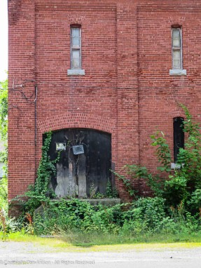 This door has seen better days.