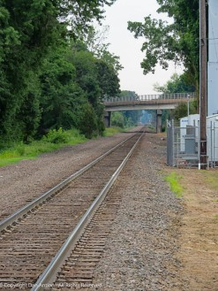 The rain line to Hartford.