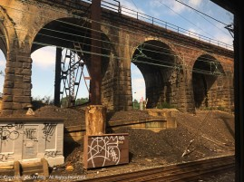 I love this old stone arched viaduct along the Northeast Corridor.