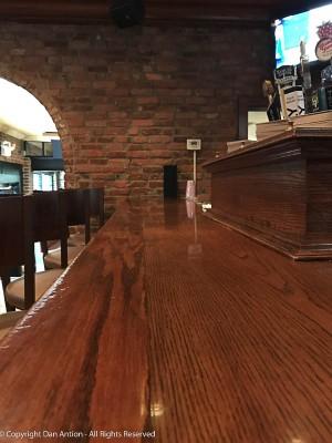 Empty bar.