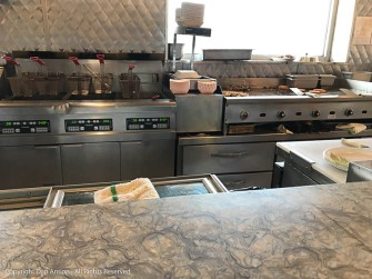 This is not a chef's kitchen. This is a diner.