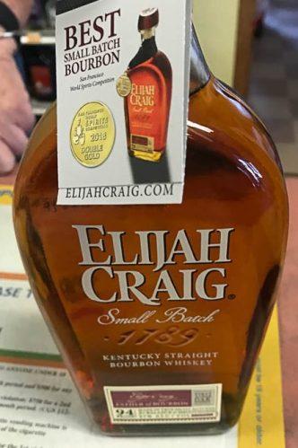 This is pretty good bourbon.