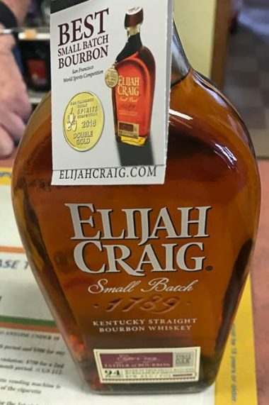 This is pretty good bourbon.