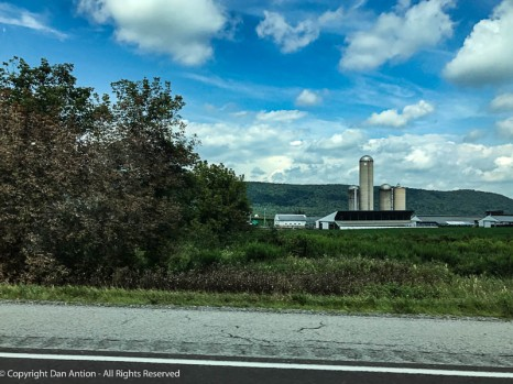 I love the farms in central Pennsylvania.