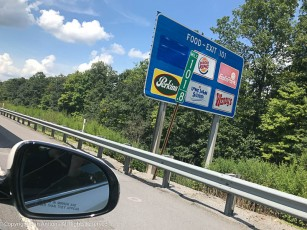 Eat'n Park, next exit. Dubois, PA is the first Eat'n Park we encounter on our ride to Pittsburgh.