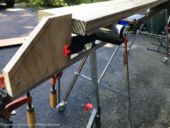 Ready to cut 11 identical joists.