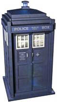 """Police box - One woman commented: """"This must be Dr. Who's neighbor's house."""""""