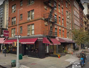 """""""For those of you familiar with SoHo and Tribeca, this is my breakfast place for many years. If you go, tell Nick that I sent ya....The locale inspired part of the trilogy in my book """"Dissolution"""".......(Varick and Broome)"""""""