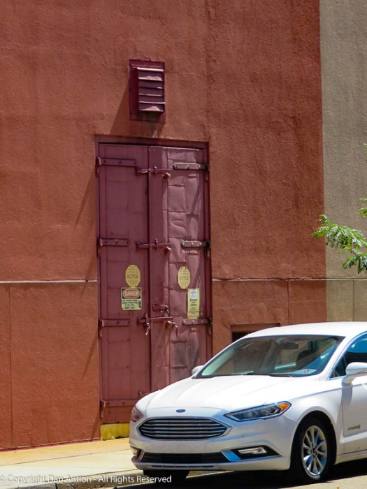 That appears to be a secure door.