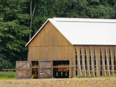 This is a relatively new barn. Built recently, but in the same style as ones built well over 50 years ago.