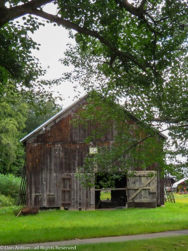 I've only been driving by this barn while my normal commuting highway is under construction.