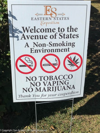 It's legal now in Massachusetts, but not at the Big-E.